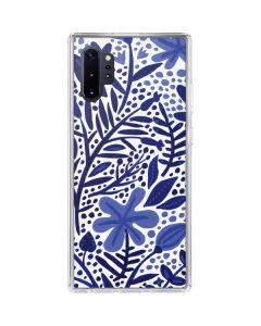 Blue Garden Galaxy Note 10 Plus Clear Case