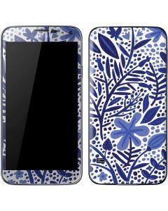 Blue Garden Galaxy S5 Skin