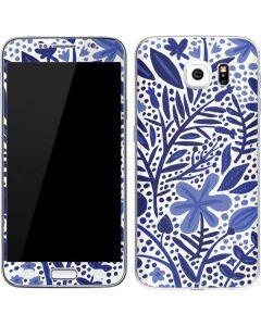 Blue Garden Galaxy S6 Skin