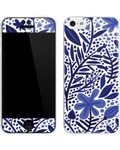 Blue Garden iPhone 5c Skin