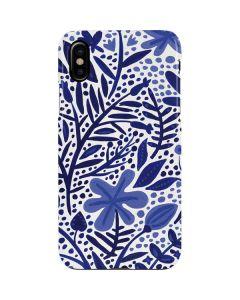 Blue Garden iPhone XS Max Lite Case