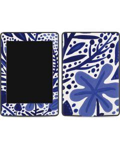 Blue Garden Amazon Kindle Skin
