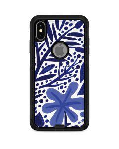 Blue Garden Otterbox Commuter iPhone Skin