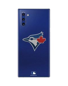 Blue Jays Embroidery Galaxy Note 10 Skin