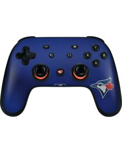 Blue Jays Embroidery Google Stadia Controller Skin