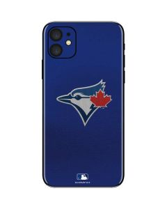 Blue Jays Embroidery iPhone 11 Skin