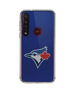 Blue Jays Embroidery Moto G8 Plus Clear Case