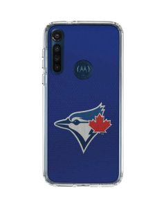 Blue Jays Embroidery Moto G8 Power Clear Case