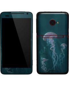 Blue Jellyfish EVO 4G LTE Skin