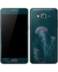 Blue Jellyfish Galaxy Grand Prime Skin