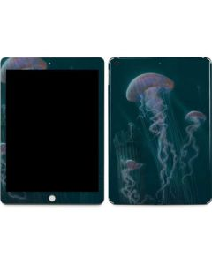 Blue Jellyfish Apple iPad Skin
