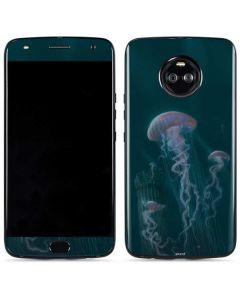Blue Jellyfish Moto X4 Skin