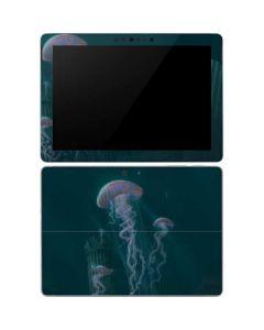 Blue Jellyfish Surface Go Skin