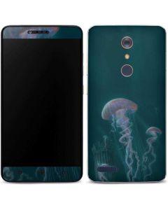 Blue Jellyfish ZTE ZMAX Pro Skin