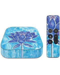 Blue Lotus Apple TV Skin