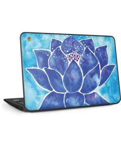 Blue Lotus HP Chromebook Skin