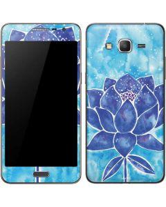 Blue Lotus Galaxy Grand Prime Skin