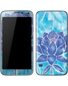 Blue Lotus Galaxy S5 Skin