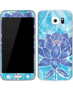 Blue Lotus Galaxy S6 Skin