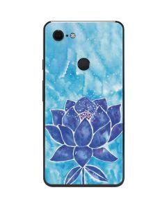 Blue Lotus Google Pixel 3 XL Skin