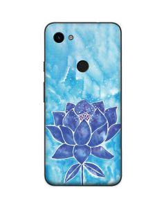 Blue Lotus Google Pixel 3a Skin