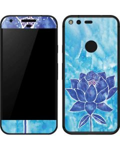 Blue Lotus Google Pixel Skin