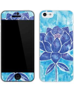 Blue Lotus iPhone 5c Skin