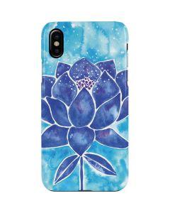 Blue Lotus iPhone XS Max Lite Case