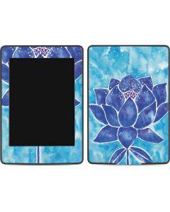 Blue Lotus Amazon Kindle Skin