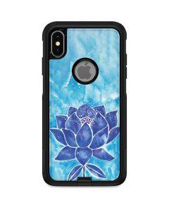 Blue Lotus Otterbox Commuter iPhone Skin