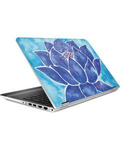 Blue Lotus HP Pavilion Skin