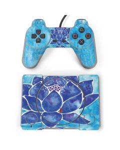Blue Lotus PlayStation Classic Bundle Skin
