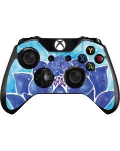 Blue Lotus Xbox One Controller Skin