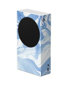 Blue Marbling Xbox Series S Console Skin