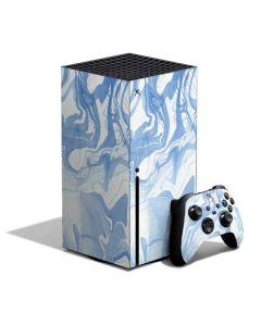 Blue Marbling Xbox Series X Bundle Skin