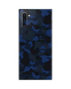 Blue Street Camo Galaxy Note 10 Skin