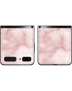 Blush Marble Galaxy Z Flip Skin