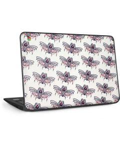 Blush Moth HP Chromebook Skin