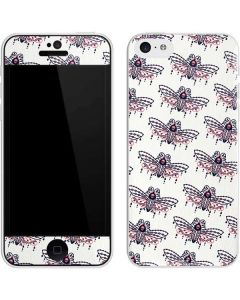 Blush Moth iPhone 5c Skin