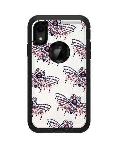 Blush Moth Otterbox Defender iPhone Skin