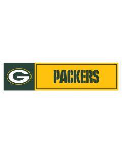 "NFL Green Bay Packers 11"" x 3"" Bumper Sticker"