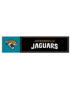 "NFL Jacksonville Jaguars 11"" x 3"" Bumper Sticker"
