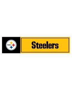 "NFL Pittsburgh Steelers 11"" x 3"" Bumper Sticker"