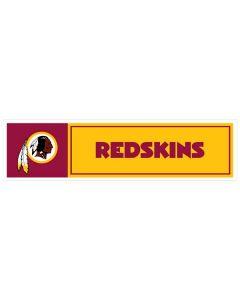 """NFL Washington Redskins 11"""" x 3"""" Bumper Sticker"""