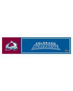"""NHL Colorado Avalanche 11"""" x 3"""" Bumper Sticker"""