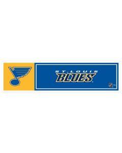 "NHL St Louis Blues 11"" x 3"" Bumper Sticker"