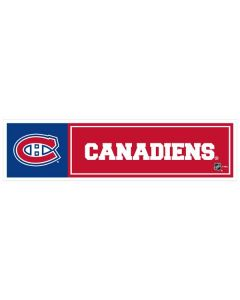 "NHL Montreal Canadiens 11"" x 3"" Bumper Sticker"