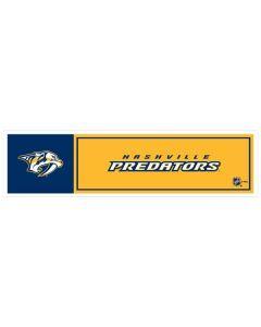 """NHL Nashville Predators 11"""" x 3"""" Bumper Sticker"""