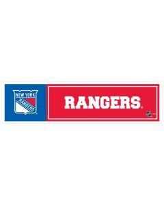 "NHL New York Rangers 11"" x 3"" Bumper Sticker"