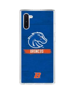 Boise State Broncos Galaxy Note 10 Clear Case